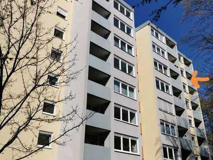 Gepflegte 2-Zimmer-Wohnung mit Balkon in Tübingen/ Wanne