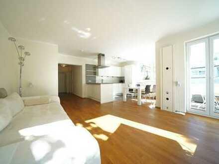 FRANK & FRANK – Obermenzing Toplage - 3-Zimmer-Wohnjuwel mit ca. 15m² Ost-Süd-West-Terrasse