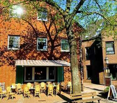Ortskern Vorst: Ehemaliges Café in idyllischer Lage zu vermieten