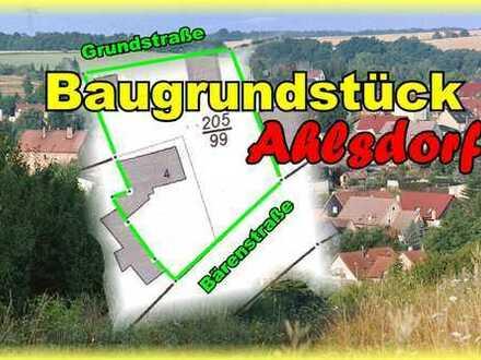 Baugrundstück Ahlsdorf - Abrissgrundstück!!!