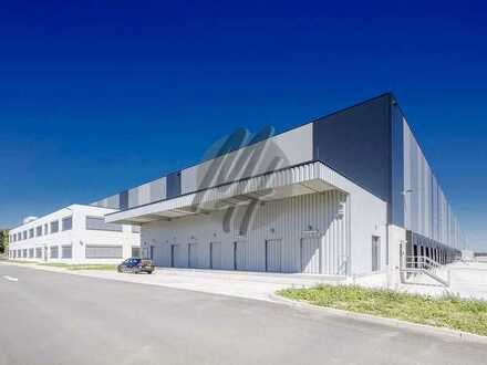 KEINE PROVISION ✓ NEUBAU ✓ Lager-/Logistikflächen (2.000 m²) & Büroflächen (500 m²) zu vermieten