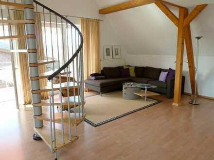 Ruhige, sonnige Obergeschosswohnung mit Galerie