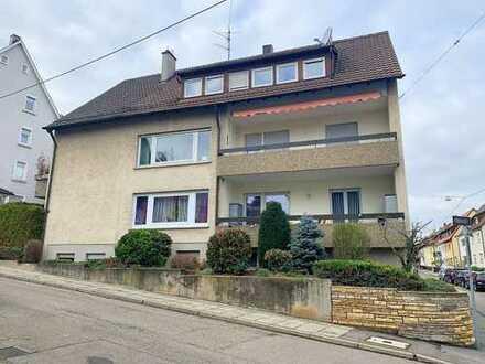Gepflegtes 3-Familienhaus mit Garten und 3 Garagen in Stuttgart-Münster