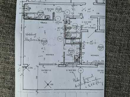 Schön geschnittene 1 Zimmer Küche Bad Wohnung mit großer Terasse in Handschuhsheim