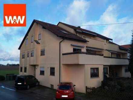Schöne 3 Zimmer-Dachgeschosswohnung in Feldrandlage!