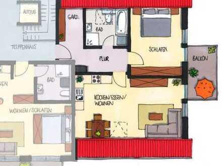 Moderne 2-Zimmer Eigentumswohnung