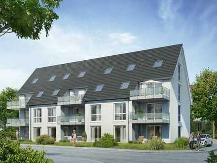 Helle 3-Zi.-Wohnung mit offener Küche, Gäste-WC und Süd-West-Balkon