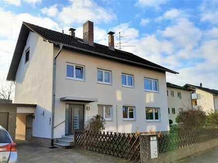 Gemütliche 3-Zi. Wohnung in gepflegtem 3-Fam. mit gr. Terasse und PKW Abstellpl., Langenselbold