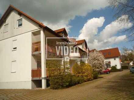 2- Zi.- Whg., Küche + Bad m. Fenster, Balkon, WE A 3, Erdgeschoss rechts,