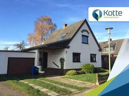3 Zimmer-Einfamilienhaus mit Renovierungsbedarf in ruhiger Lage