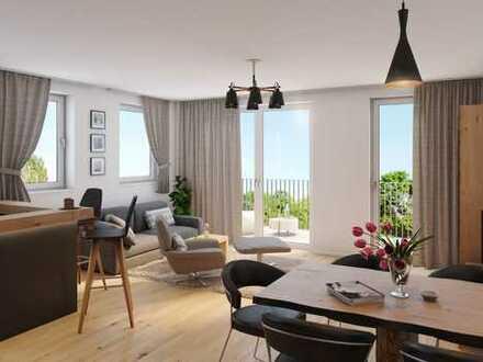 Traumhafte 3 Zimmer Wohnung mit zwei Balkonen und optimaler Süd-West Ausrichtung