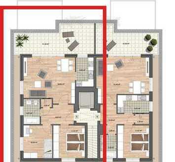 Schöne Penthousewohnung mit Tiefgarage + Aufzug