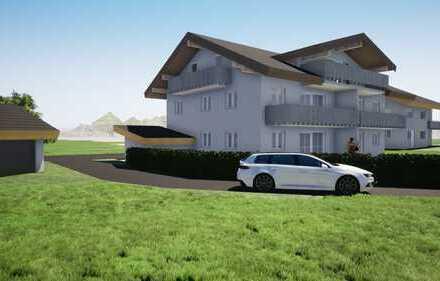 Eigentumswohnung in 5-Familienhaus in Sonthofen - Ortsteil Binswangen
