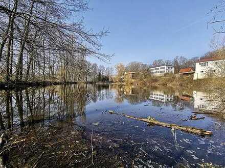 Grundstücke mit Teich