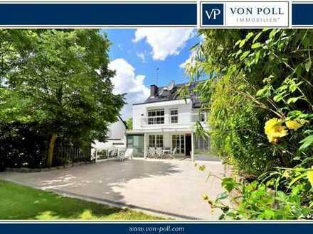 Eindrucksvolles Einfamilienhaus mit Garten am Lerchesberg