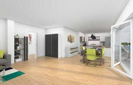 Neubauwohnung im Staffelgeschoss mit großer, sonniger Dachterrasse (Whg. 11)