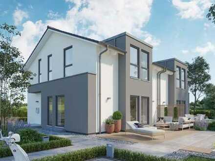 Individuell planbare Neubau DHH in Wiesbaden Breckenheim