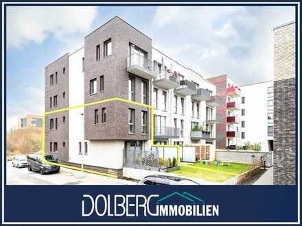 Wohnen wie im Reihenendhaus: moderne 4-Zimmer-Maisonette mit eigenem Garten in TOP-Lage von Jenfeld