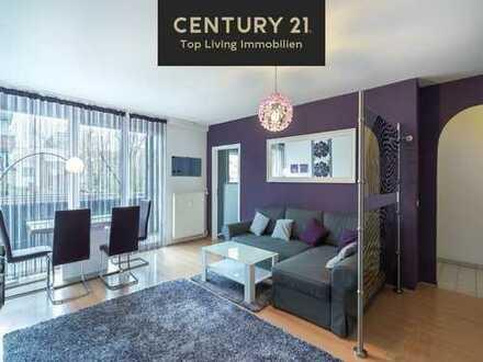 THE PLACE TO BE! 3 Zimmer Wohnung mit Balkon und EBK