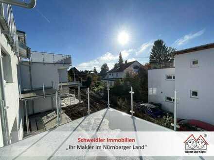 Schicker 3-Zimmer-Neubau-Traum mit Einbauküche und Sonnenbalkon in Laufer Bestlage