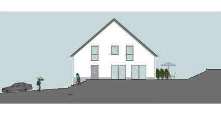 Neubau eines Doppelhauses in massiver Bauweise