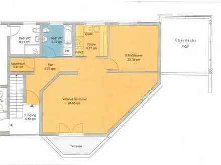 Neuwertig 2,5 Zimmer mit Terrasse im Herzen von Nellingen