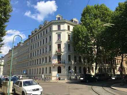 Wohnen im Waldstraßenviertel, 4 -Zimmer, Balkon,G-WC, große Küche
