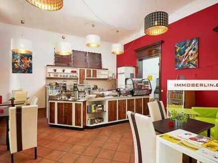 IMMOBERLIN: Vermietung in Toplage! Bahnhofs-Café mit Südterrasse