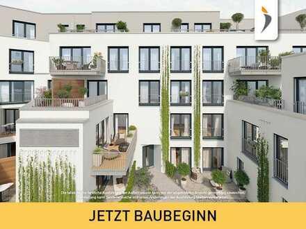 3,5-Zimmer-Balkonwohnung mit individuellem Charakter am Sternwartpark   Provisionsfrei