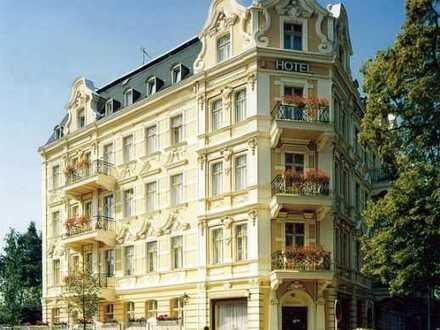 Hotel 4 Sterne 8%er mit besten Empfehlungen, voll saniert + genehmigt. Erweiterungsbau 40% Förderung