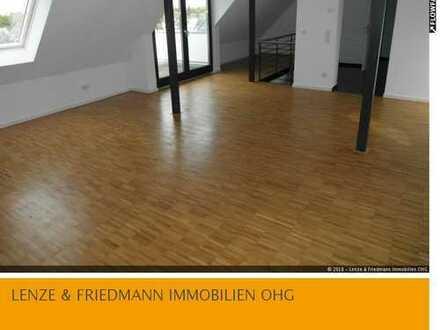 Köln-Niehl 4 Zimmer Maisonette-Wohnung 141 m² Fußbodenhzg., Parkett, Dachterrassen
