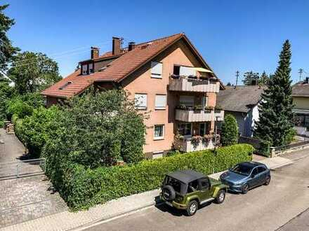 Traumhafte 4 Zimmer Dachgeschoss-Wohnung in Karlsruhe-Heide
