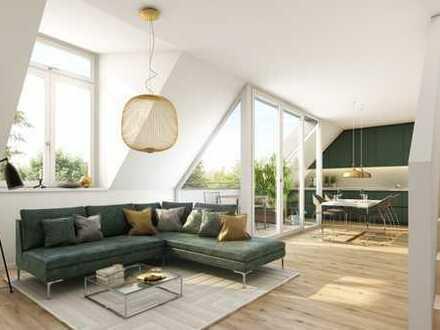 Wohnglück! Maisonette-Wohnung mit sorgfältig ausgewählten Materialien und Loggia in Traumlage