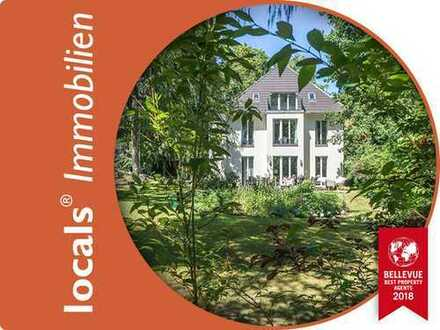 Villenkolonie Babelsberg: 230 m² in moderner Stadtvilla auf über 1000 m² großem Grundstück