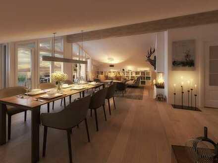PALAIS KARL-THEODOR Exklusive Neubau-Wohnung 2.5 | GESAMTES DG |  West-Ost