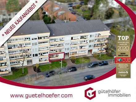 Kapitalanlage gesucht? Erdgeschosswohnung mit Einbauküche, Balkon und Kfz-Stellplatz in urbaner Lage