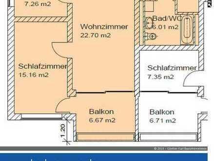 Zentrumsnahe Wohnung in Deggendorf