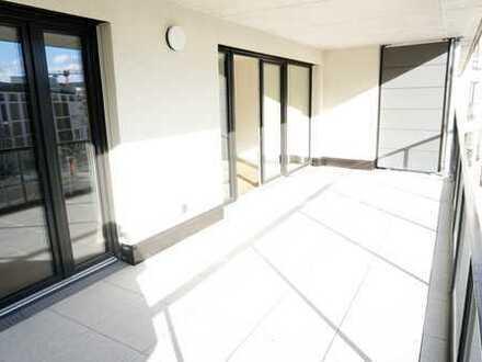 3 Zimmer Luxuswohnung mit Terrasse und TG Stellpatz am Europaviertel