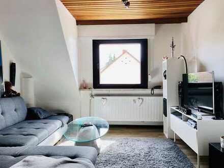 Ilvesheim - gepflegte 3 ZKD Dachgeschoss Wohnung ca. 70 m²