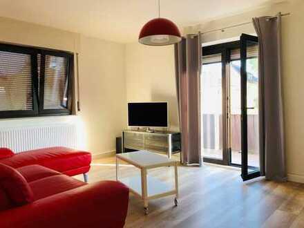 Stuttgart- Stammheim, möblierte 2 Zimmer Pendler Wohnung nähe Porsche, Bosch