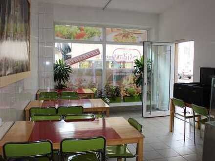 Kandel: Imbiss / Laden mit Küche und Abstellraum