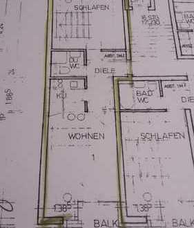 Gut geschnittene 1,5-Zimmer-Wohnung