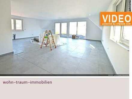 großzügige 3 Zimmer-Neubau WHG mit großer Dachterrasse im 2-Familien-Haus in Bottrop-Fuhlenbrock