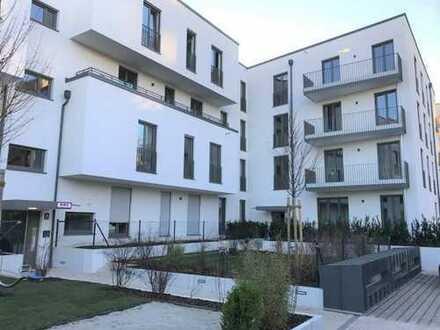 E & Co.- Exklusive, moderne 2 Zi.- Wohnung mit hochwertiger Einbauküche und Loggia.