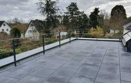 Absolute Solitärlage direkt am Bunten Garten gelegen ! Luxuswohnen und traumhafte Terrasse !