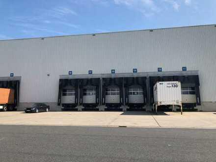 S-GIV: Sehr attraktive Logistikanlage mit kleinerem Bürotrakt und bester Verkehrsanbindung