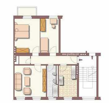schöne, helle 3 - Zimmer Wohnung in Düsseldorf-Unterbilk