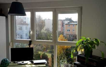 2-Zimmer-Wohnung in junger Hausgemeinschaft mit Garten