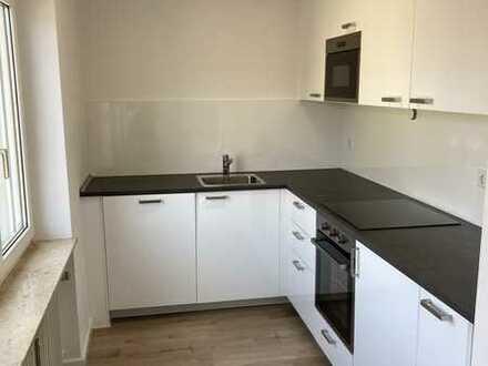 Erstbezug nach Sanierung: ansprechende 1,5-Zimmer-Wohnung mit Einbauküche in Ammerndorf