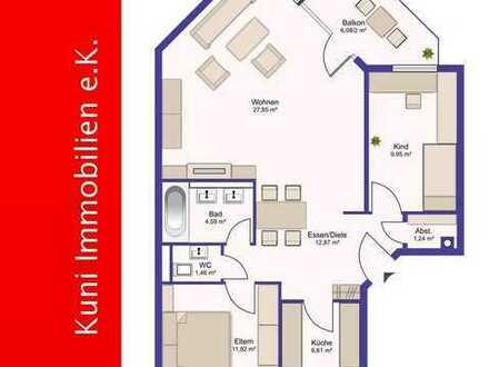 Kapitalanlage für Ihre Zukunft! 3-Zimmer-ETW in bevorzugter Lage.